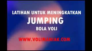 Latihan untuk meninggikan jumping volly ball