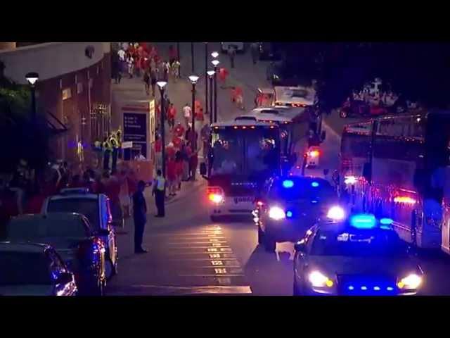 Clemson's Entrance to Stadium! (Clemson vs. Georgia 8.31.2013) #MustSee