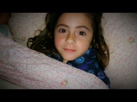 Terror ¿Filmación de un fantasma en la cama de su hija ¿O peor aún un demonio