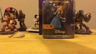 Disney Infinity 3.0 Alice Figure Unboxing!