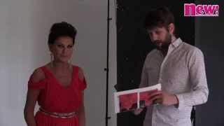 Behind the scenes with Carol Wright as Kris Jenner - new! magazine
