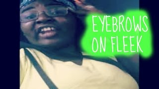 Eyebrows on Fleek Vine by Peaches Monroee