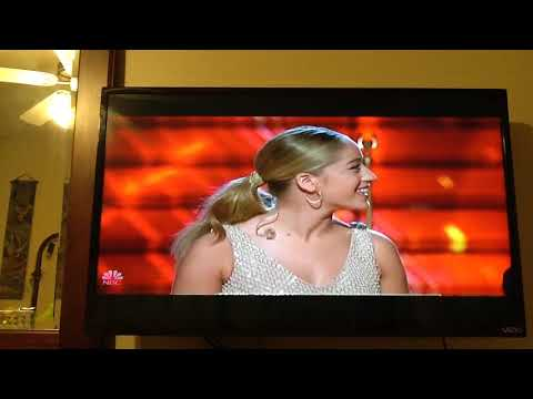The Voice - Top 12. Season 14- Brynn Cartelli - Performance- Up To The Mountian. Live Show.
