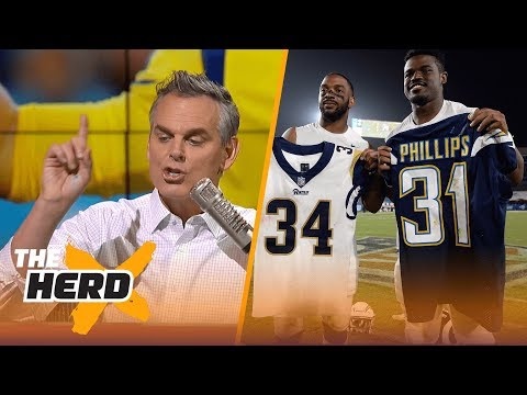 The Rams will work in Los Angeles but the Chargers won t THE HERD