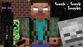 Monster School: If Herobrine was a Teacher - Minecraft