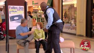 Kid Steals Police Officer Wallet Prank