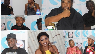 Kalybos, Liwin, Mcbrown, Joselyn Dumas Face Pete Edochie In $150,000 Movie