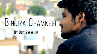 Bindiya Chamkegi - Reprise | Unplugged Cover by Udit Shandilya | Lata Mangeshkar