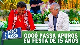 Gogó passa apuros em festa de 15 anos | A Praça é Nossa (07/09/17)