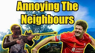 Annoying The Neighbours - Mr_Bare
