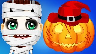 Fun Kids Care Games - Halloween Party Makeup, Costume Dress Up Makeover Carve Pumpkin Kids Apps