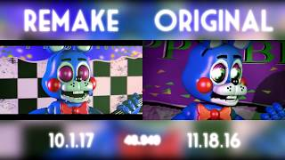 [SFM FNaF] They'll Find You - Old vs New (Comparison)
