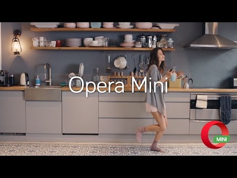 More Speed, Battery and Data with Opera Mini browser