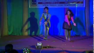 dhaka university: stage dance performance