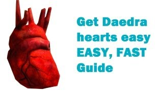 ★how to get Daedra hearts Free ★One every 20 seconds - Skyrim