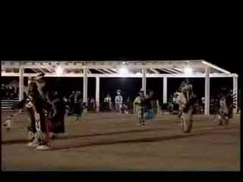 Numaga Pow wow 2005 - Elder's Native American Indian dance