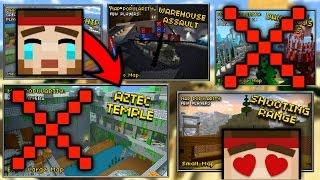 Top 5 Removed Maps In Pixel Gun 3D - Part 2