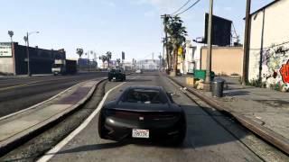 GTA 5 Franklin Drive-By