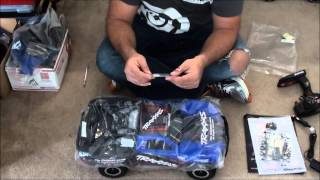 First Unboxing Traxxas Slash with On-Board Audio and Road Test