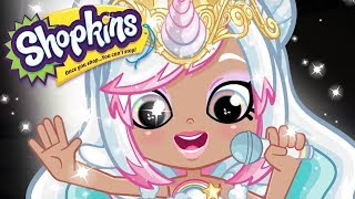 SHOPKINS Cartoon - SPARKLING SHINY SINGER | Videos For Kids