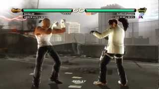 tekken 6  baek vs bruce irvin  psn ranked