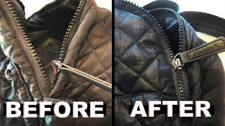 Zipper Repair | Quick Fix for a Broken Separated Zipper