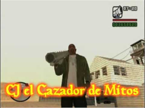 CJ el Cazador de Mitos GTA SA Loquendo PART. 2