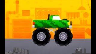 Cars for Kids cartoons spiderman games 2017 - Monster truck racing games duck moose 1