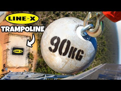 ATLAS STONE Vs. LINE X TRAMPOLINE from 45m