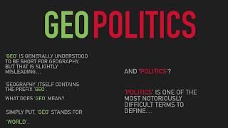 Geopolitics: A Brief Introduction