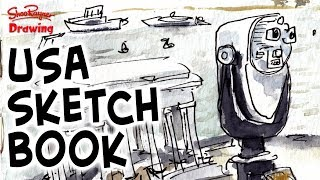 See my USA Sketchbook