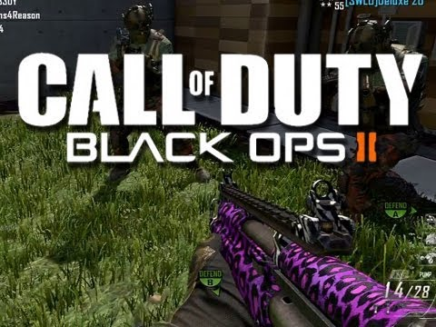 Black Ops 2 Funny Moments Montage Horny Girl and New Camos