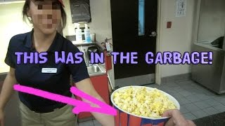 HOW TO GET FREE FOOD AT THE MOVIES! SOCIAL EXPERIMENT :)