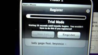 iToner ringtone program for iPhone