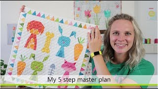 How to quilt your quilt + free ebook