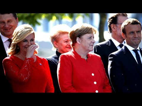 RUDE: NATO Leaders Laughing at President Donald Trump Calls on NATO Allies to Pay Their 'Fair Share'