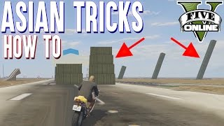 ALLE ASIAN TRICKS LERNEN | WORKSHOP + HOW TO (+ DOWNLOAD) | GTA 5 - CUSTOM MAP RENNEN