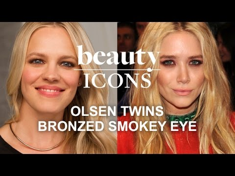 How to Get Mary-Kate & Ashley Olsen's Smoky Eye-Celeb Makeup Tutorial-Style.com's Beauty Icons
