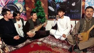 Qadrat ullah.yar Saraish Radio Studio New year 1396.قدرت الله هنر دوست اوزبیکی ۲ استدیوی رادیو سرایش