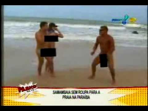 Samambaia e Christian Pior Praia de Nudistas Gostosa Panico