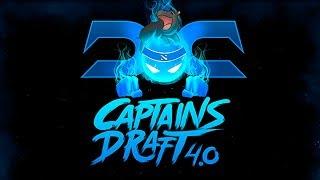 EG vs Secret Captains Draft 4.0 Game 3 bo3