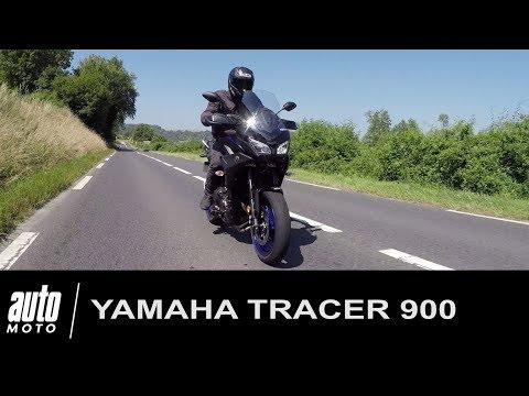 2018 YAMAHA TRACER 900 ESSAI POV Auto Moto