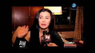 """عرب وود l لقاء حصري مع """"نادين الراسي"""" عن تفاصيل أزمتها الصحية وتأثرها بالإعلام"""