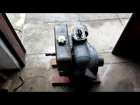 Silnik ANDORIA S 301D S 7 praca przed remontem