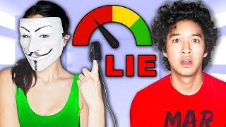 TRUST HACKER GIRL? LIE DETECTOR TEST! To LEARN the TRUTH