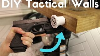 DIY Hidden Compartment - Tactical Walls Using Rev-A-Lock System