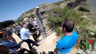Protest in Beit Jala against the wall 25/08/15