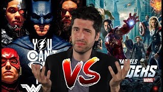 Justice League UNWATCHABLE!? DCEU vs MCU - Can