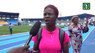 Commowealth Games champion, Tobi Amusan not fazed by the pressure of competing at home