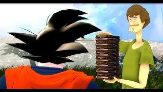 [SFM] Shaggy Versus Son Goku